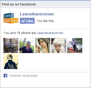 facebook fanpage widget