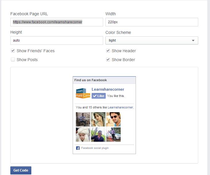 facebook fanpage settings