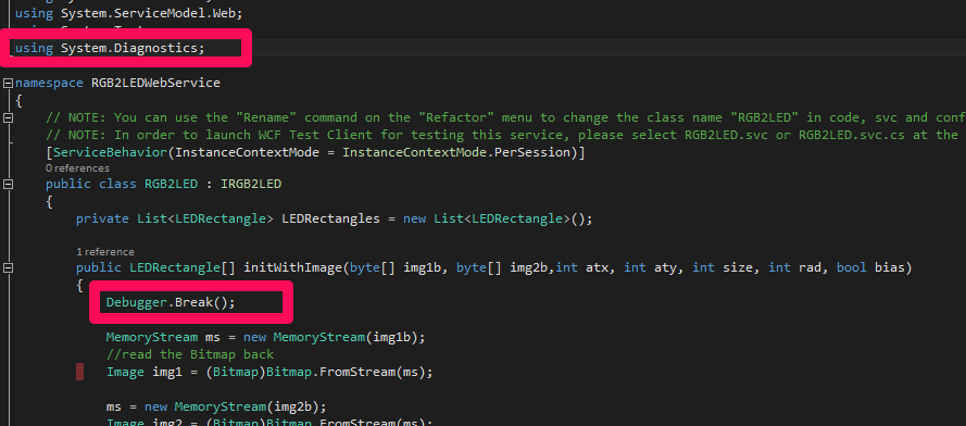 debug wcf web service1