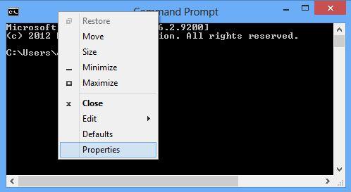 command-prompt-propeties